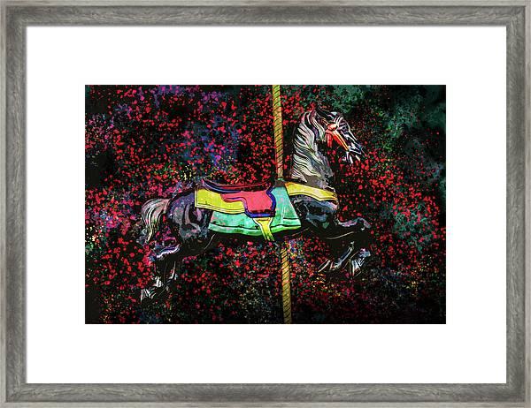 Carousel Number 16 Framed Print