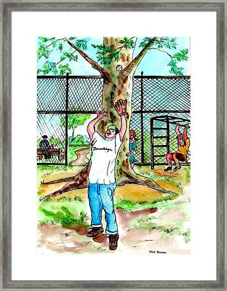 Carroll Park Was A Favorite Playground For The Neighborhood Kids Framed Print