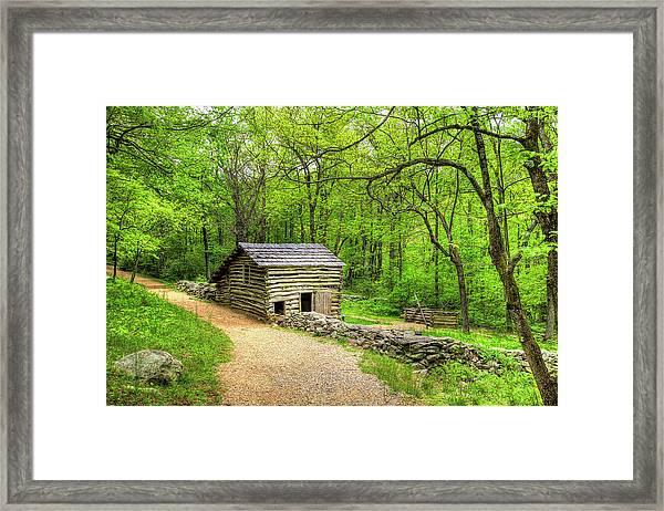 Carter Farm Barn Framed Print