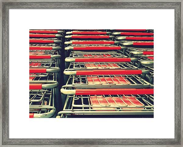 Carts Framed Print