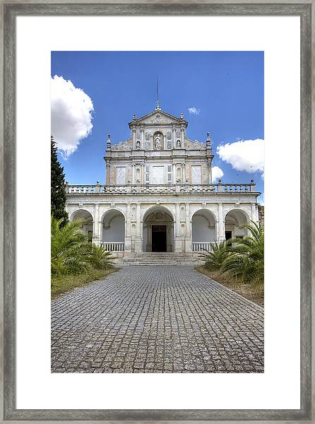 Cartuxa Convent Framed Print by Andre Goncalves