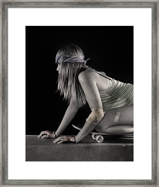 Carve It Up Framed Print