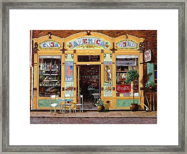 Casa America Framed Print