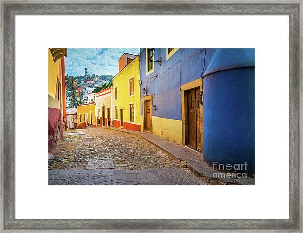 Casa Azul Framed Print