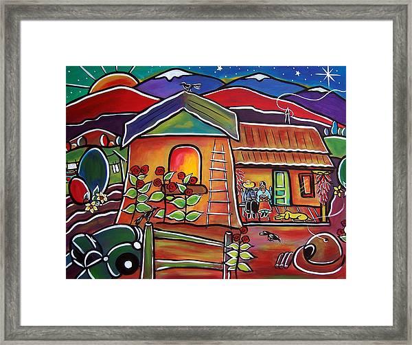 Casa De Abeulos Framed Print