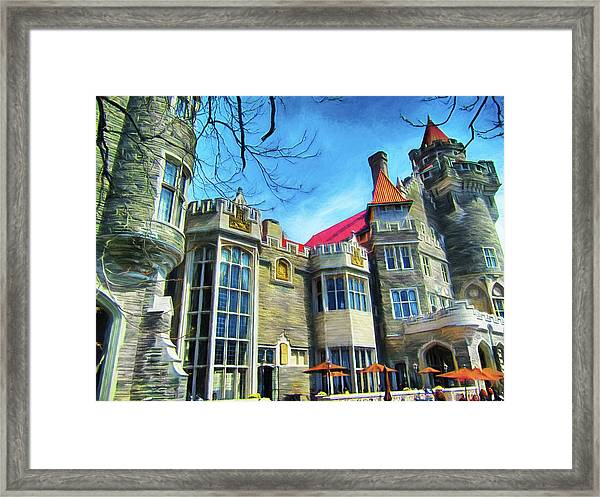 Casa Loma Series 2 Painted Y1 Framed Print
