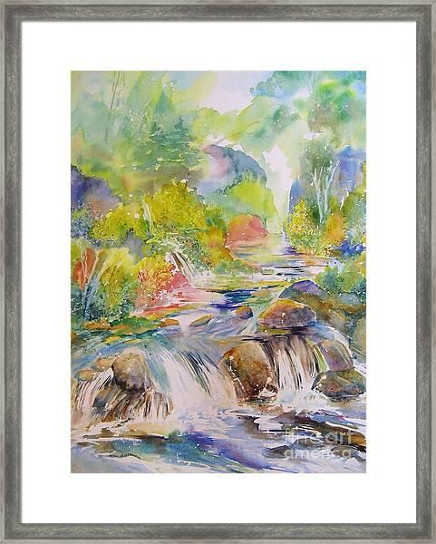 Cascade Canyon Framed Print