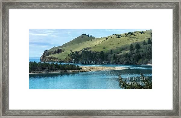 Cascade Head Panorama Framed Print