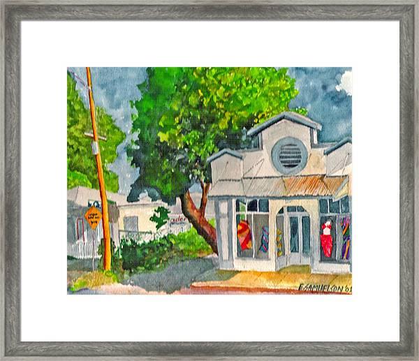 Caseys Place Framed Print