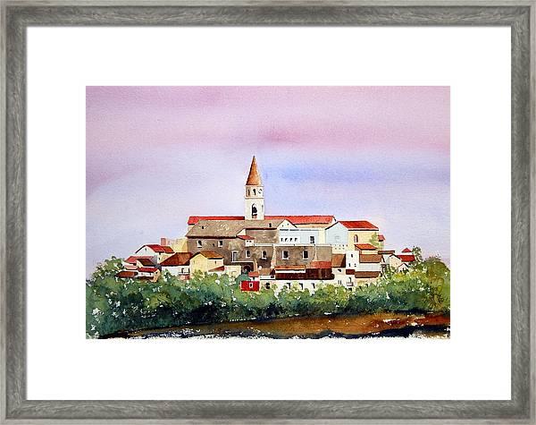 Castelnuovo Della Daunia Framed Print