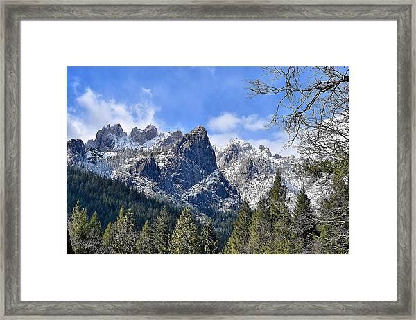 Castle Crags Framed Print