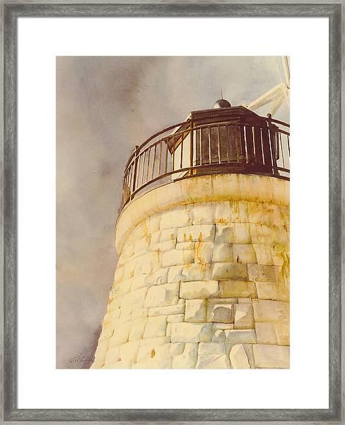 Castle Hill Light Framed Print