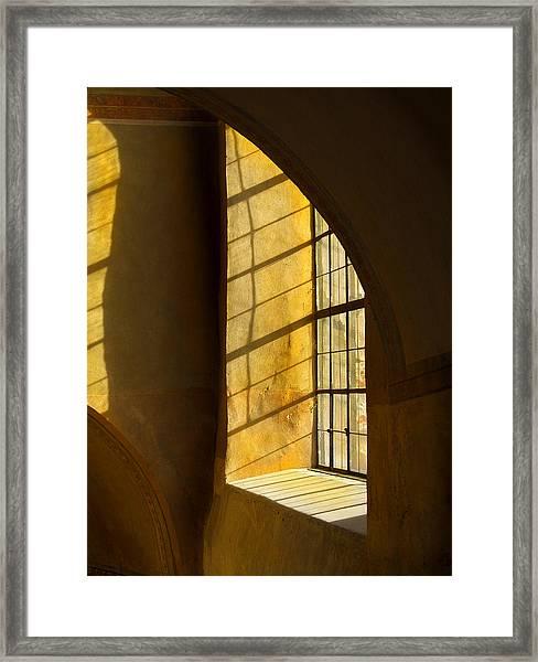 Castle Light Framed Print