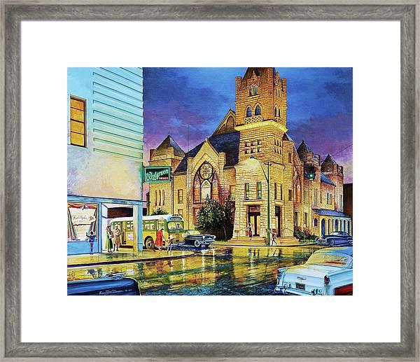 Castle Of Imagination Framed Print
