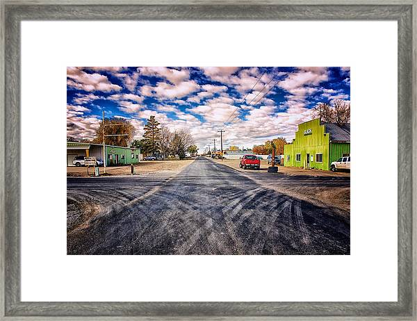 Castleford Idaho Framed Print