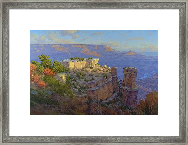 Castles In The Sky Framed Print