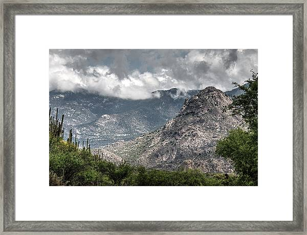 Catalina Mountains Framed Print