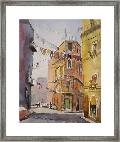 Catania - Blowing In The Wind Framed Print