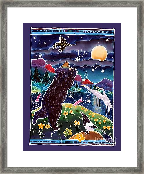 Catch A Shooting Star Framed Print by Harriet Peck Taylor