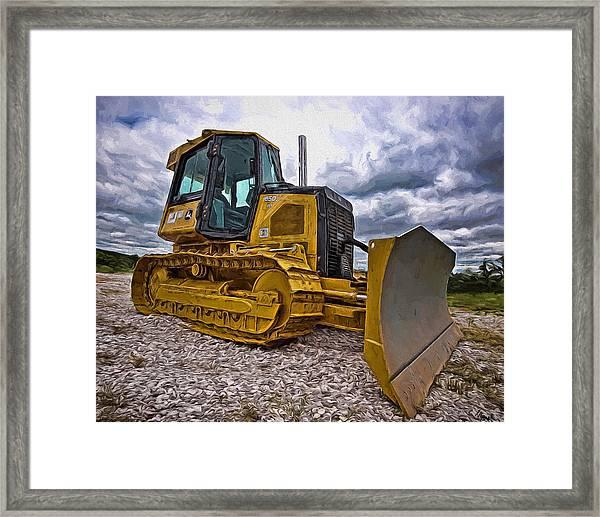 Caterpillar 650j Framed Print