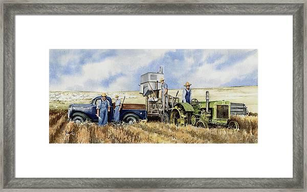 Catesby Cuttin' 1938 Framed Print
