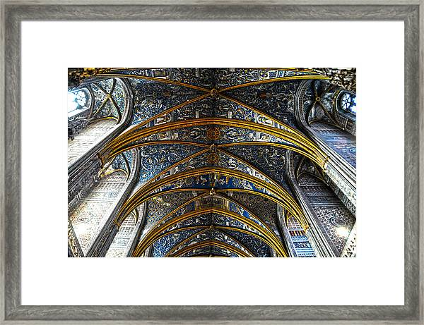 Cathedral Albi Framed Print