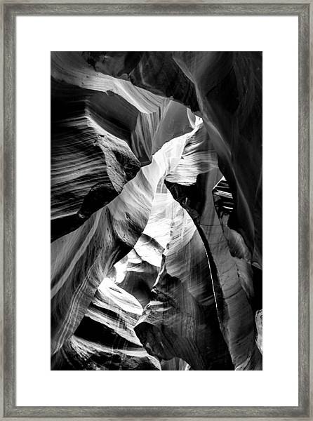 Cathedral Cave Framed Print