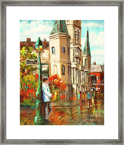 Cathedral Jazz Framed Print