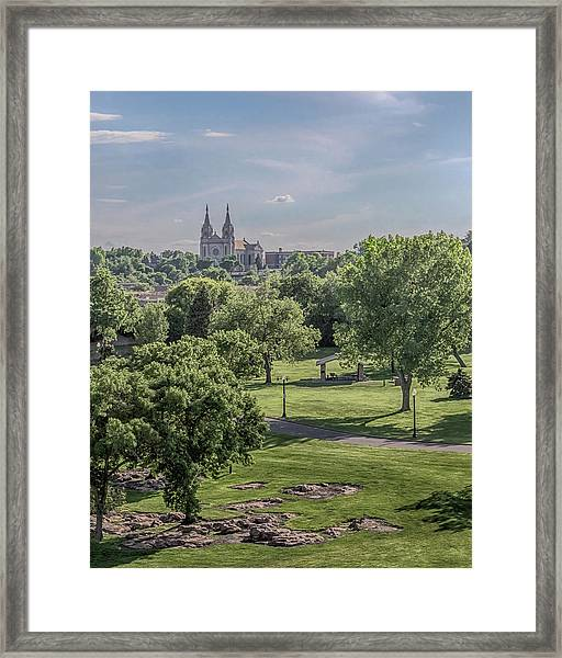 Cathedral Of St Joseph #2 Framed Print