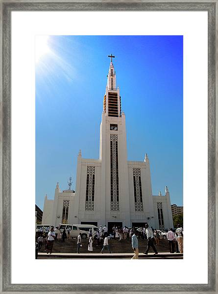 Cathedral Of The Sun Framed Print