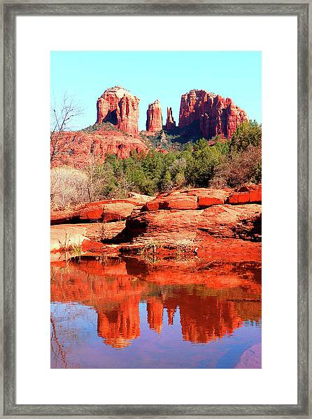 Cathedral Reflections 2 Framed Print