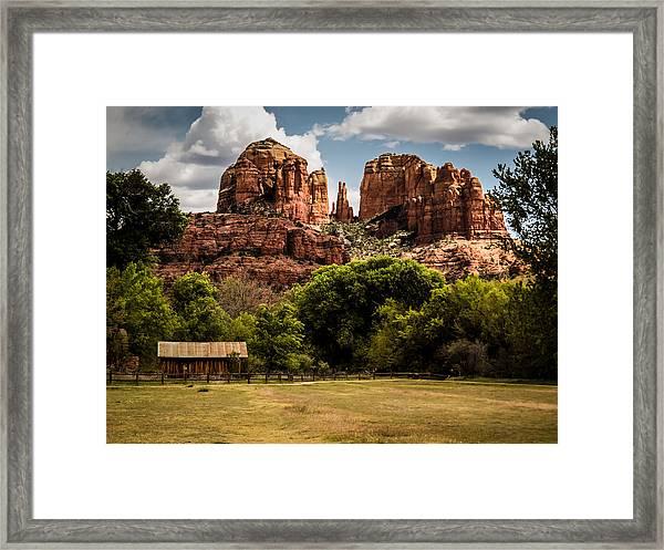 Cathedral Rock Framed Print