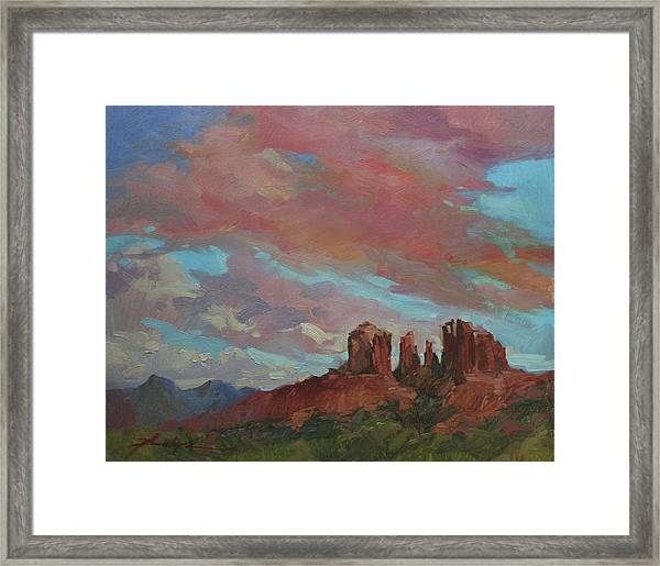 Catherdral Canopy Framed Print
