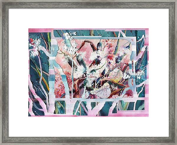 Cattails Six Framed Print