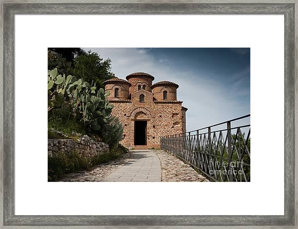 Cattolica Di Stilo, Framed Print
