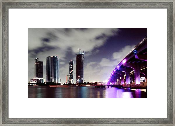 Causeway Bridge Skyline Framed Print