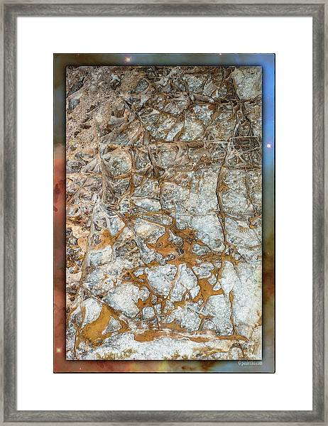 Cave Abstraction.... Framed Print