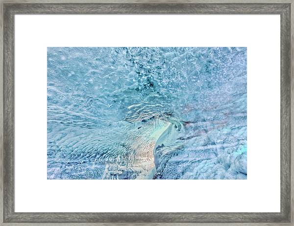Cave Colors Framed Print