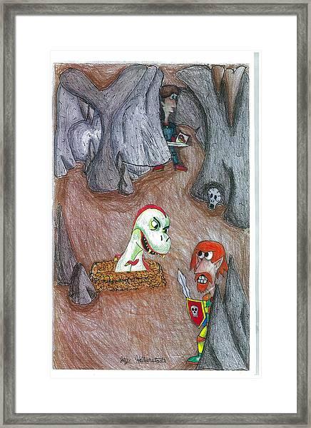 Cave Framed Print