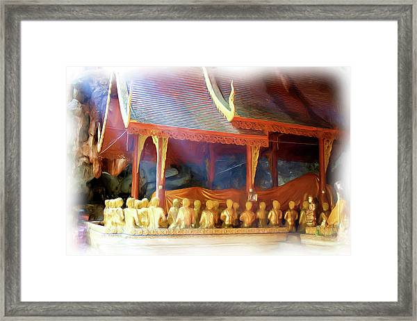 Cave Of The Bat Temple 2 Framed Print