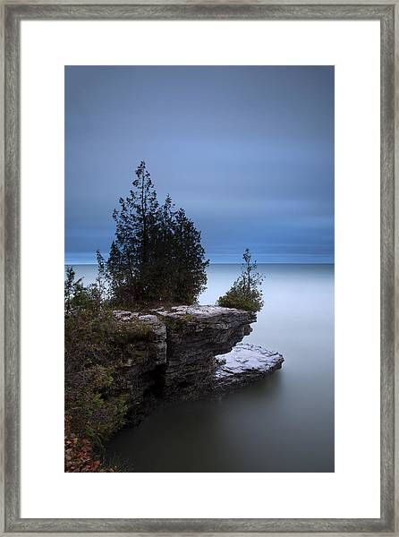 Cave Point Framed Print