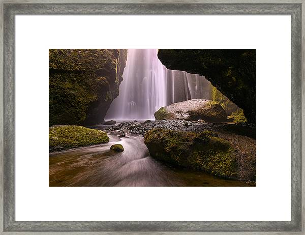Cavern Of Dreams Framed Print