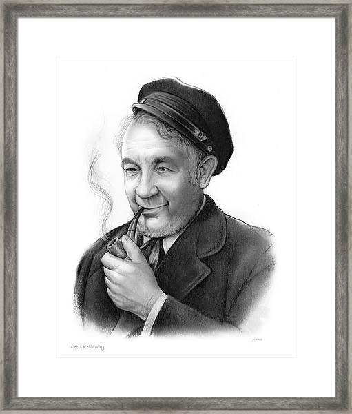 Cecil Kellaway Framed Print