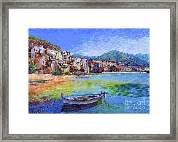 Cefalu Sicily Italy Framed Print