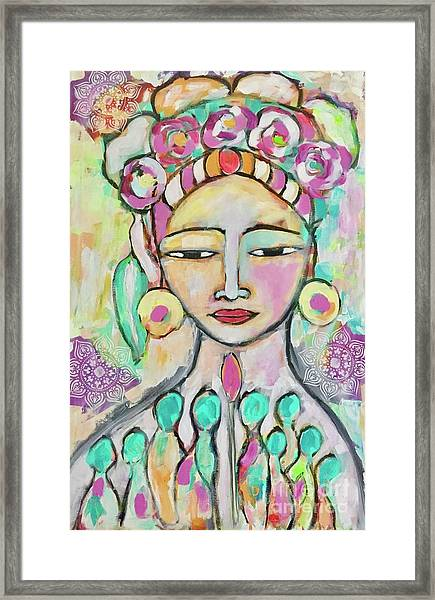 Celebrating Frida  Framed Print