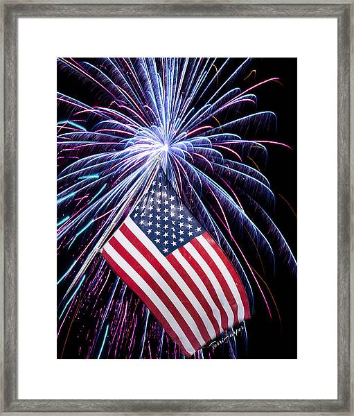 Celebration Of Freedom Framed Print