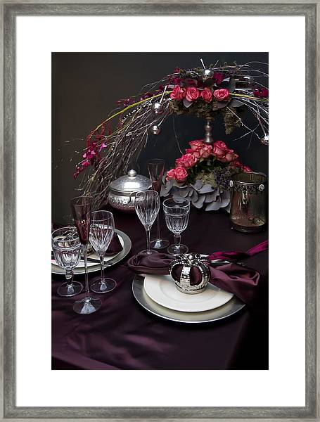 Celebration Table Framed Print