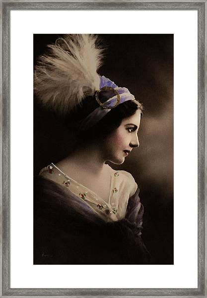 Celeste Aida Framed Print