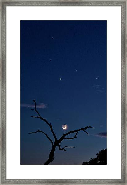 Celestial Alignment Framed Print