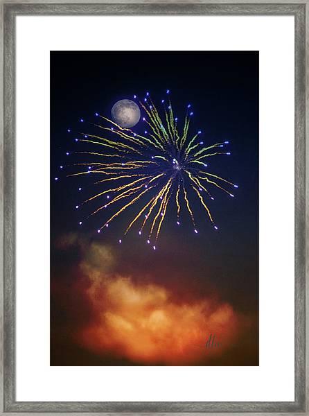Celestial Celebration  Framed Print